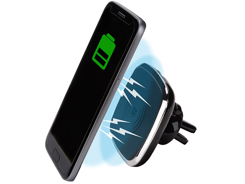 Automatic car mount with 5W wireless charger TRACER WIRELESS MAGNETIC