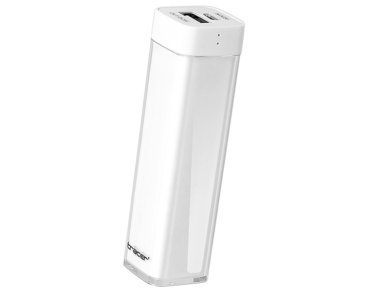 Mobile battery TRACER 2600 mAh white