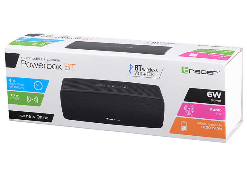 Speakers TRACER Powerbox BLUETOOTH