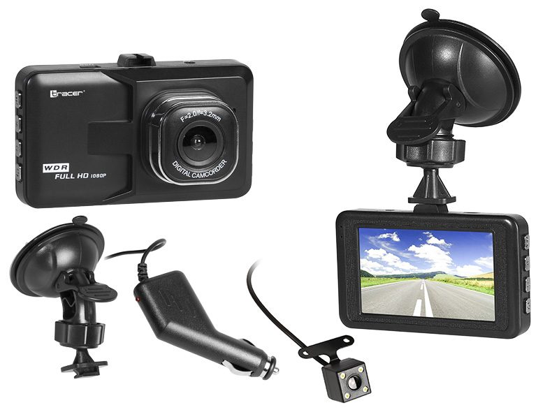 Car camera TRACER MobiDouble FHD