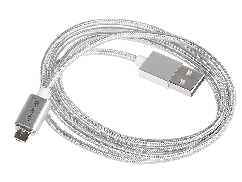Magnetic cable TRACER USB 2.0 AM - micro 1,0m silver