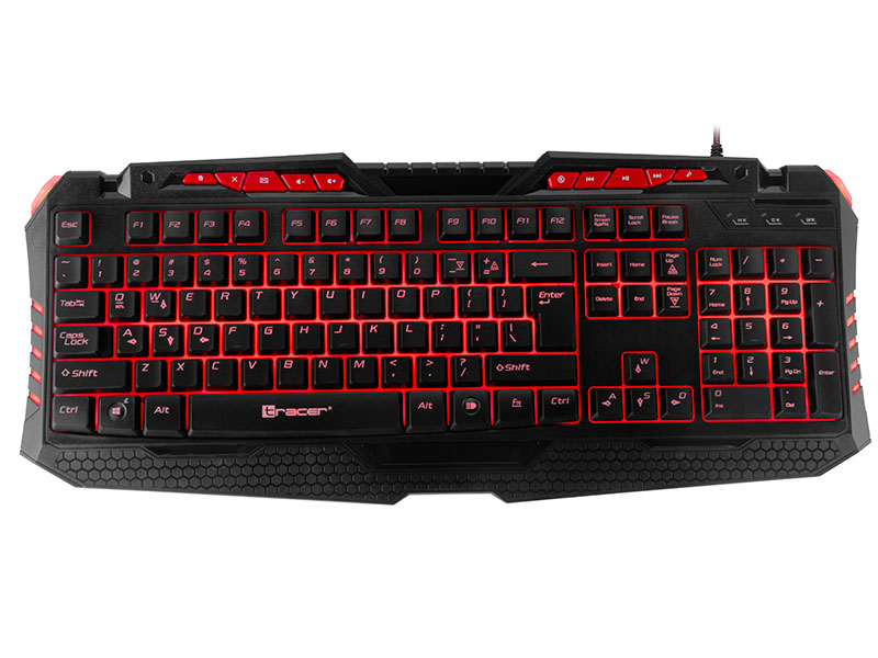 Keyboard TRACER GAMEZONE HellWay