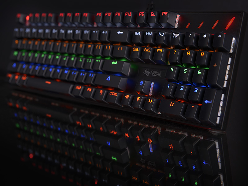 Mechanical Keyboard Tracer GAMEZONE Radiant