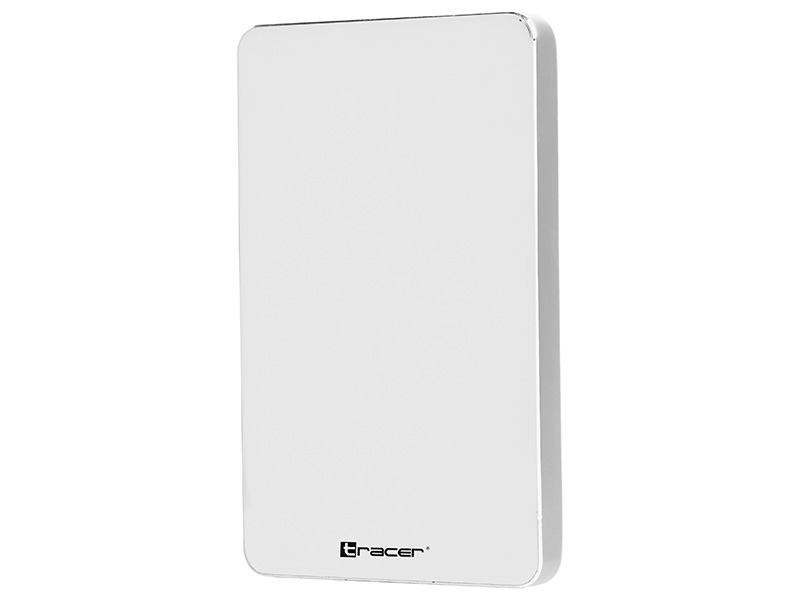 "HDD external enclosure TRACER USB 3.1 Type-C, HDD 2.5"" SATA 725 GLOSSY WHITE"