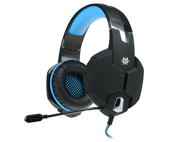 Gaming headset TRACER BATTLE HEROES Dragon BLUE