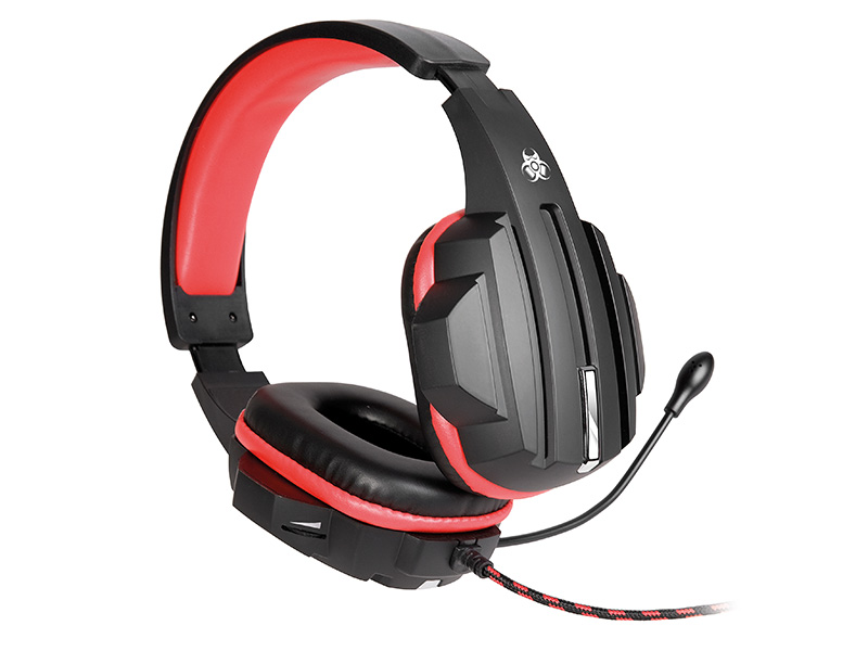 Gaming headset TRACER GAMEZONE Expert RED