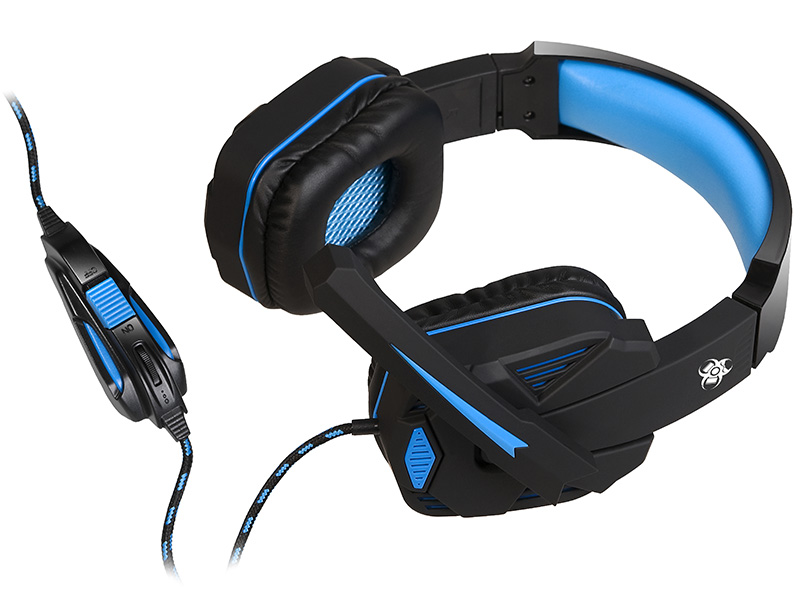 Gaming headset TRACER BATTLE HEROES Xplosive BLUE