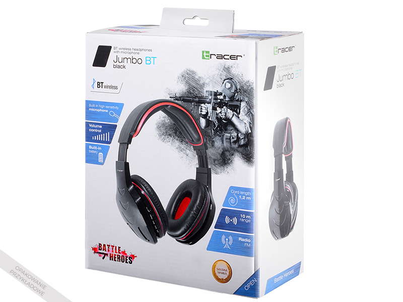 Gaming headset TRACER BATTLE HEROES Xplosive White