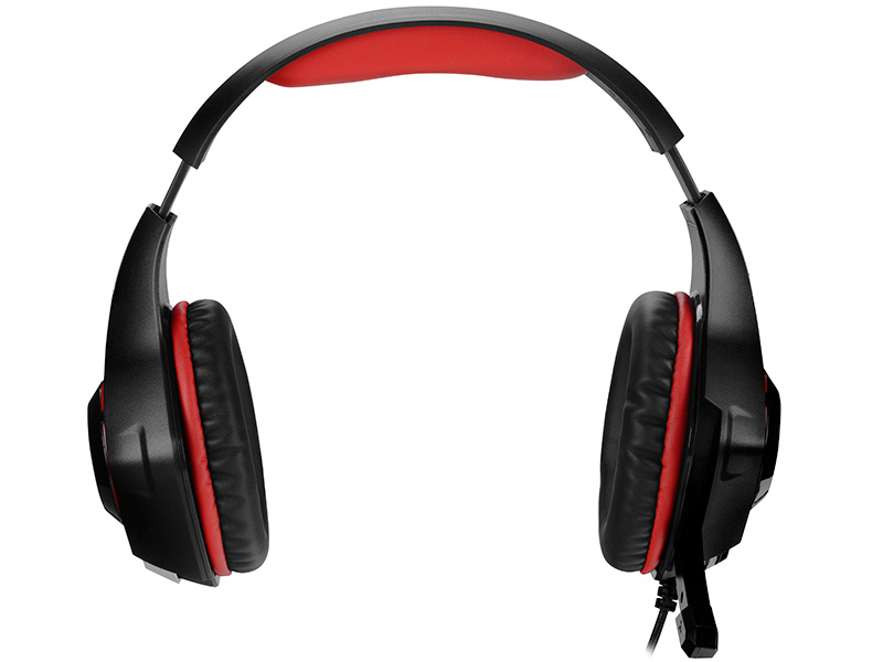 Gaming headset TRACER BATTLE HEROES Gunman RED