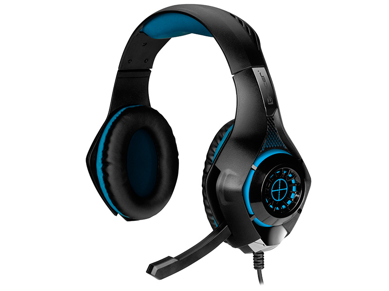Gaming headset TRACER BATTLE HEROES Gunman BLUE