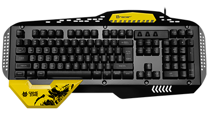 Keyboard TRACER GAMEZONE Kaaos