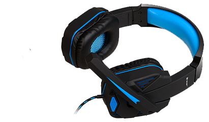 Gaming headset TRACER GAMEZONE Xplosive BLUE